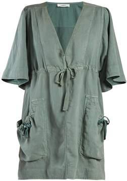 Etoile Isabel Marant Wendell V-neck tie-waist dress