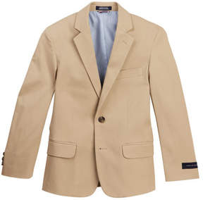 Tommy Hilfiger Stretch Fine Twill Coat (Big Boys)