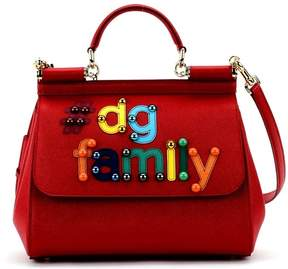 Dolce & Gabbana Red Family Sicily Tote - RED - STYLE