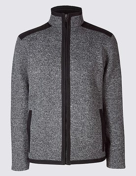 Marks and Spencer Zipped Through Fleece Jacket