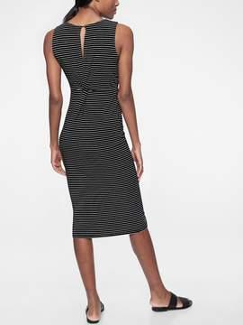 Athleta Stripe Twist Back Dress