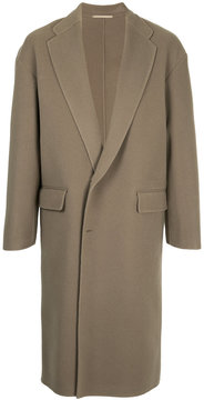 H Beauty&Youth single-breasted coat