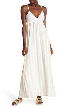 Melissa Odabash Petra V-Neck Knit Long Dress