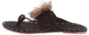 Figue Suede Twiggy Sandals w/ Tags