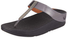 FitFlop Fino Crystal Thong Sandal