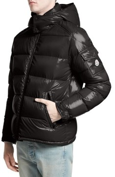 Moncler Men's Maya Lacquered Down Jacket