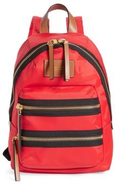 Marc Jacobs 'Mini Biker' Nylon Backpack - Red