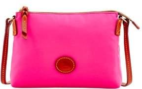Dooney & Bourke Nylon Crossbody Pouchette Shoulder Bag - FUCHSIA - STYLE