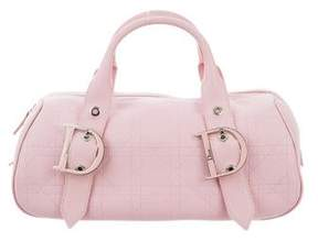 Christian Dior Cannage Leather Handle Bag
