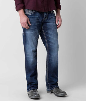 Rock Revival Talaus Relaxed Straight Stretch Jean