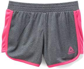 Reebok Dark Gray & Pink Swing Shorts - Toddler & Girls