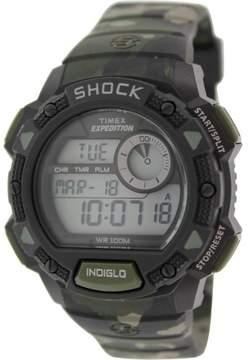 Timex Expedition Base Shock T49976 Camouflage Digital Quartz Men's Watch
