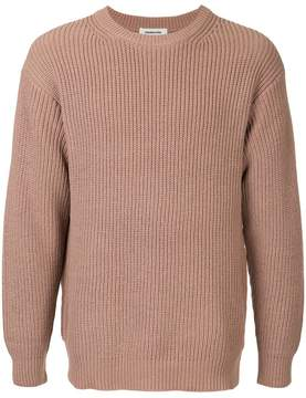Monkey Time Crew Neck Ribbed Jumper
