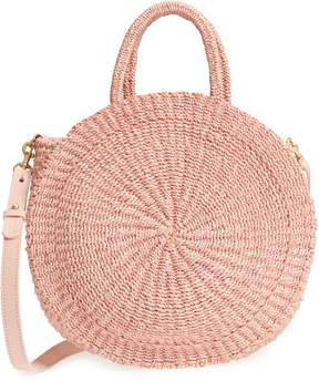 Clare Vivier Alice Woven Sisal Straw Bag