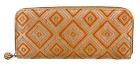 Kotur Brocade Zip Clutch