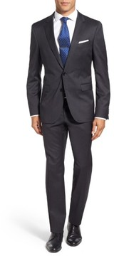BOSS Men's 'Ryan/win' Extra Trim Fit Solid Wool Suit