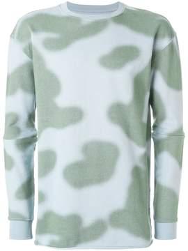 MHI camouflage sweatshirt