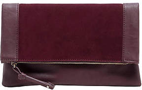 Sole Society Suede Clutch - Jemma