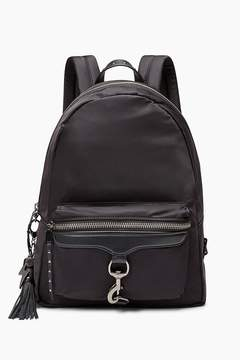 Rebecca Minkoff Always On M.A.B. Backpack With Charge - BLACK - STYLE