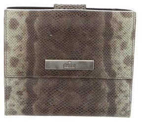 Gucci Lizard Compact Wallet - ANIMAL PRINT - STYLE