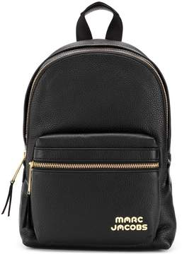 Marc Jacobs logo zipped backpack