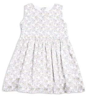 Roberta Roller Rabbit Toddler's, Little Girl's, and Girl's Chantal Elephant-Print Pleated Dress