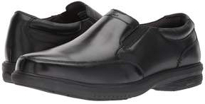 Nunn Bush Myles Street Moc Toe Slip-On with KORE Slip Resistant Walking Comfort Technology Men's Slip-on Dress Shoes