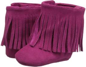 Baby Deer Soft Sole Fringe Boot Girl's Shoes