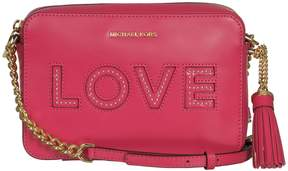 Michael Kors Ginny Love Shoulder Bag - ULTRA-PINK - STYLE