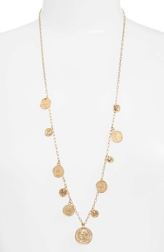 Ettika Women's Coin Charm Necklace