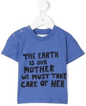 Mini Rodini mother earth print T-shirt