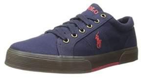 Polo Ralph Lauren Mens Felixstow Canvas Low Top Slip On Fashion Sneakers.
