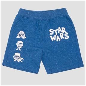 Star Wars Toddler Boys' Jogger Shorts Bright Navy