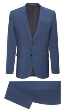 HUGO Boss Italian Wool Suit, Extra Slim Fit Astian/Hets 42S Blue