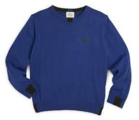 Armani Junior Little Boy's & Boy's Crewneck Sweater