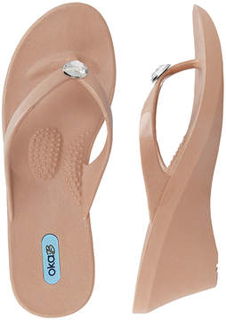 OKA b. Blush Kelsey Wedge Sandal - Women