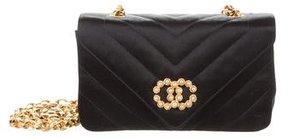 Chanel Chevron CC Pearl Flap Bag