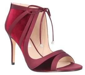 Nina Velvet Ankle Strap Heel