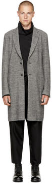 Attachment Grey Long Tweed Coat
