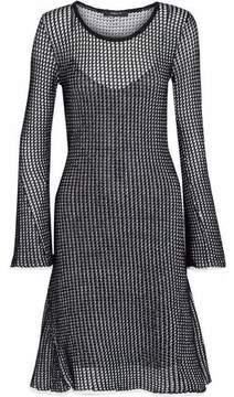Derek Lam Open-Knit Cotton-Blend Dress
