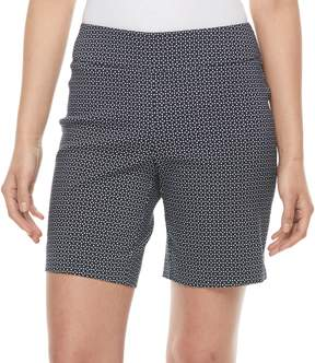 Dana Buchman Women's 8-in. Pull-On Dress Shorts