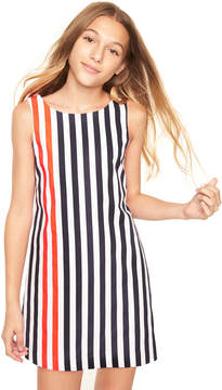 Milly MINIS NAUTICAL STRIPES ANGULAR SHIFT DRESS
