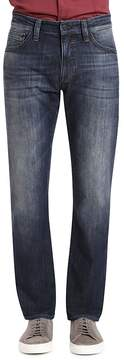 Mavi Jeans Zach Straight Fit Jeans in Deep Shade