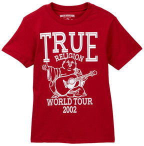 True Religion Buddha Tour Tee (Big Boys)