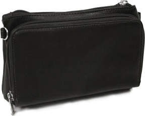 Piel Leather Shoulder Bag/Wristlet 2860 (Women's)