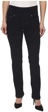Jag Jeans Petite - Petite Peri Pull-On Straight in After Midnight Women's Jeans