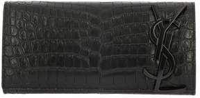Saint Laurent Clutch Shoulder Bag Women - BLACK - STYLE