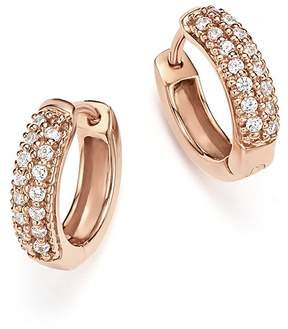 Bloomingdale's Diamond Mini Hoop Earrings in 14K Rose Gold, .15 ct. t.w. - 100% Exclusive