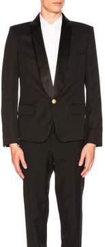 Balmain 1 Button Blazer