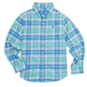 Vineyard Vines Toddler's, Little Boy's& Boy's Sandspar Plaid Shirt